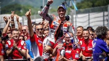 MotoGP: Dovizioso: un 2° posto che mi fa arrabbiare