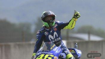 MotoGP: Rossi: la pole al Mugello mi ha ringiovanito di 10 anni