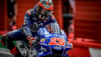 MotoGP: Vinales: sono veloce, la caduta non mi ha fermato