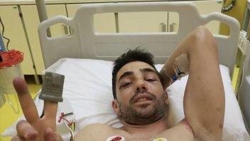 """MotoGP: Pirro: """"sono arrivato alla San Donato senza freni"""""""