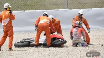 """MotoGP: Dovizioso: """"Going home with this zero is devastating"""""""