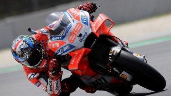 MotoGP: Barcellona: Lorenzo non si ferma, Dovizioso a terra