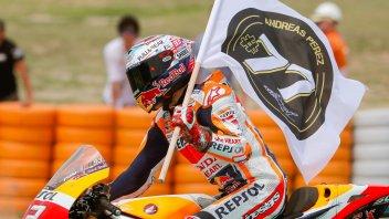 MotoGP: Marquez: se avessi seguito Lorenzo sarei caduto