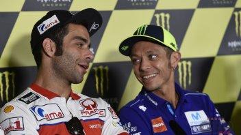 MotoGP: Rossi: Pedrosa potrebbe essere d'aiuto per Yamaha