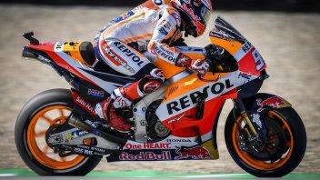 MotoGP: FP1: Ad Assen Vinales e Rossi soffiano sul collo di Marquez