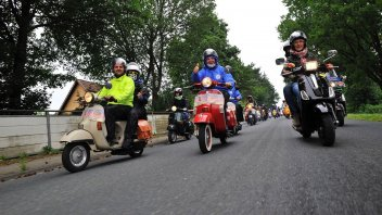 Moto - News: Vespa World Days 2018: a Belfast la 12esima edizione