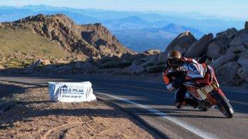 News: Dunne vince la Pikes Peak sulla Ducati Multistrada