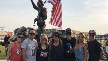 News: Nicky Hayden statue inaugurated in Owensboro