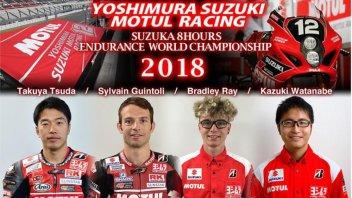 SBK: 8 Ore Suzuka: c'è la new entry Bradley Ray con Suzuki