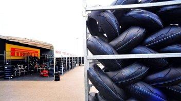 SBK: Pirelli sfoggia a Brno una novità all'anteriore e al posteriore