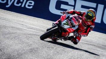 SBK: FP4: A Laguna Seca la Ducati di Davies beffa le Kawasaki