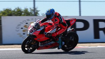 SBK: Rea-Melandri: è testa a testa nella FP1 a Laguna Seca
