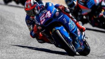 Moto2: Il Sachsenring è azzurro: 1° Pasini, 2° Marini, 3° Bagnaia
