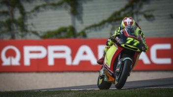 Moto2: Aegerter fa sua la FP1 del Sachsenring, Bagnaia 25°
