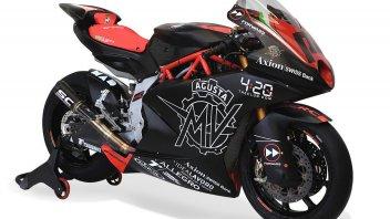 Moto2: FOTO. Ecco il primo prototipo della MV Agusta Moto2