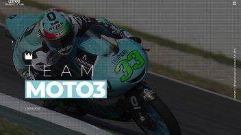 Moto3: Leopard Racing ha un nuovo sito