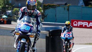 Moto3: Martin perfetto in Germania, 2° Bezzecchi
