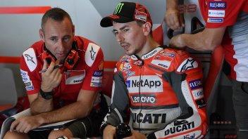 """MotoGP: Lorenzo: """"Petrucci doveva capire, fortunati a non cadere"""""""