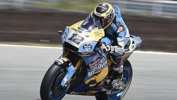 """MotoGP: Una giornata di prove a Brno per Luthi: """"un buon test"""""""