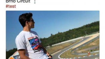 MotoGP: Test a Brno per Marquez e Pedrosa