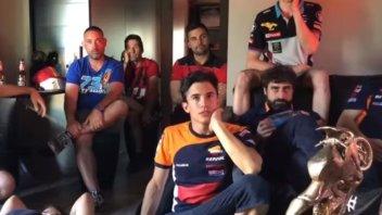 MotoGP: Marquez: dalla gioia alla rabbia per la sua Spagna eliminata