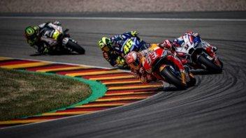MotoGP: Sachsenring: lieve aumento degli ascolti dopo Assen