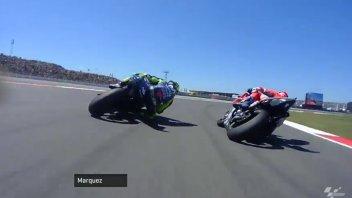 MotoGP: Il duello Rossi vs Dovizioso visto da Marc Marquez