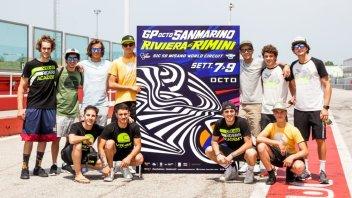 MotoGP: Rossi e i piloti della VR46 Academy aprono la sfida al GP di Misano
