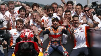 MotoGP: Marquez: la vittoria? Mi è bastato spingere tre o quattro giri