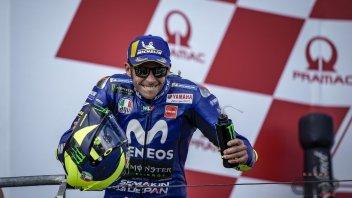 MotoGP: Rossi: il mio segreto? Penso di avere 10 anni in meno