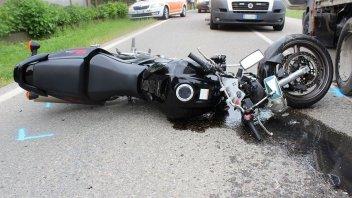 News Prodotto: Statistiche incidenti - Nel 2017 muoiono più motociclisti