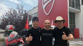 News Prodotto: Ducati: dalla Cina al WDW. 7.575 km in appena 7 giorni