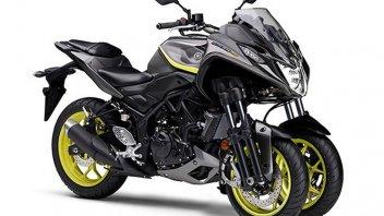 News Prodotto: Yamaha: una piccola Niken in arrivo
