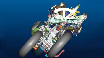 News Prodotto: Piaggio sfida Yamaha: si lavora alla moto a tre ruote