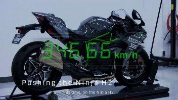 News Prodotto: Kawasaki Ninja H2: a caccia di record a Bonneville