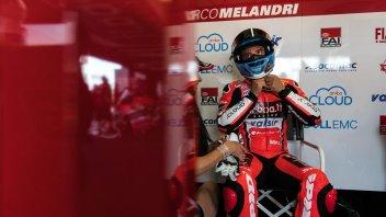 SBK: Melandri: il futuro? Avrei preferito provare la Ducati V4 prima