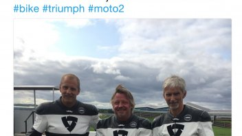 Moto2: Damon Hill, from F1 to Triumph Moto2 at Silverstone