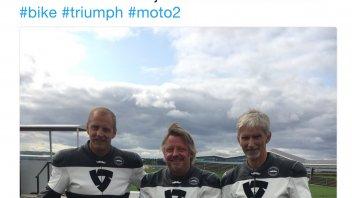 Moto2: Damon Hill, dalla F.1 alla Triumph Moto2 a Silverstone