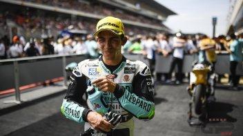 Moto2: Bastianini pronto per la Moto2 con Italtrans
