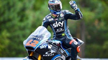 Moto2: In Austria Bagnaia vince alla Dovizioso beffando Oliveira