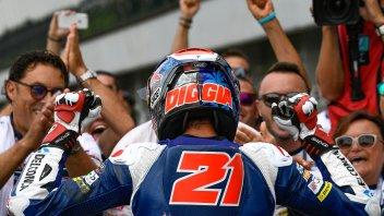Moto3: Di Giannantonio: una gara da champagne o ghiaia