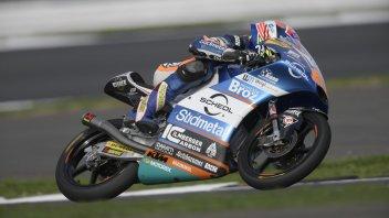 Moto3: Oettl e KTM padroni della FP1 di Silverstone