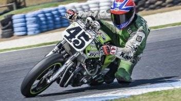 MotoAmerica: Classic Superbikes on the track at Sonoma