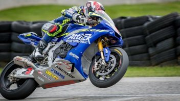 MotoAmerica: In Pittsburgh Herrin on the top step of the podium after 5 years