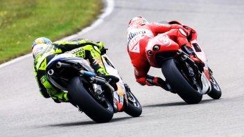 MotoGP: Amarcord Brno 2001: la grande sfida tra Biaggi e Rossi