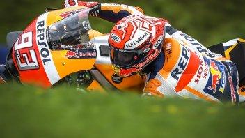 MotoGP: FP3: Marquez si prende la vetta, Rossi in Q1