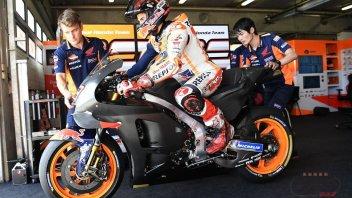 MotoGP: Riscossa Honda nei test di Brno: 1° Marquez, 3° Pedrosa