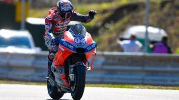 MotoGP: Magico Dovi: Ducati in pole a Brno dopo 10 anni