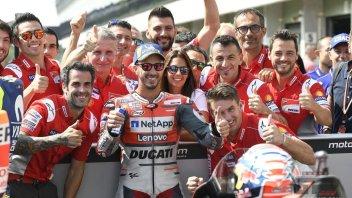"""MotoGP: Dovizioso: """"Questa pole è una prova di forza"""""""