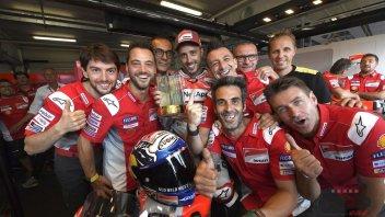 MotoGP: Dovizioso: ho vinto guardando... i maxischermi